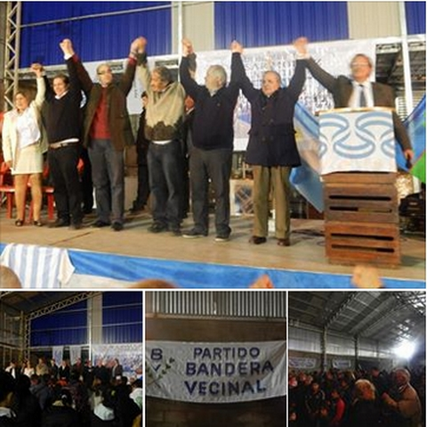 Lanzamiento de Bandera Vecinal en Mar del Plata