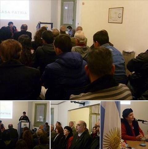 Conferencia de Prof. Rosa Montesino Díaz en Casa Patria