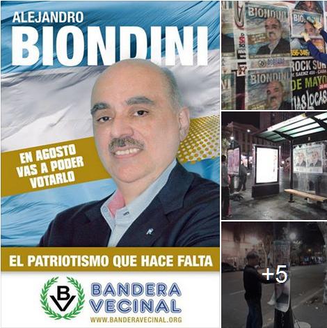 Pegatinta Afiches Biondini 2015