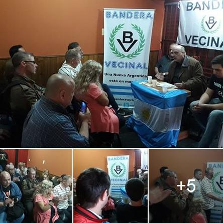 Ver fotos: Asamblea Nacionalista en Quilmes