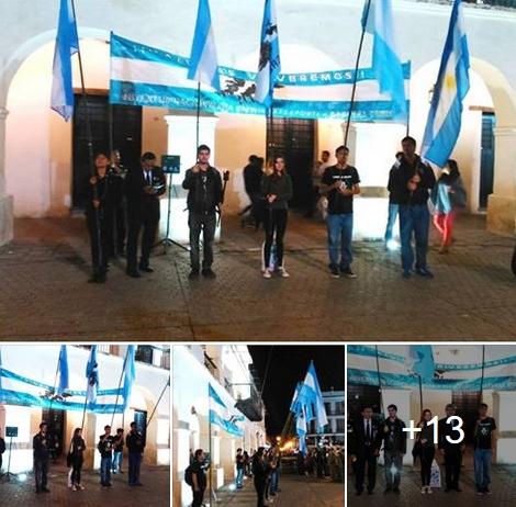Ver fotos: Delegación de la Juventud de BV en la Vigilia en Salta