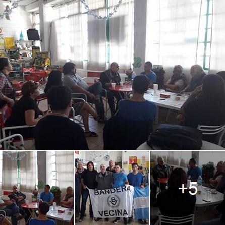 Bahía Blanca: Biondini en reunión de trabajo y coordinación con dirigentes locales
